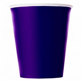 Juego de 8 Vasos Violetas