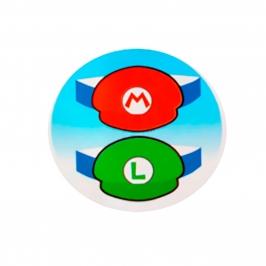 Juego de 8 Viseras Super Mario y Luigi - My Karamelli