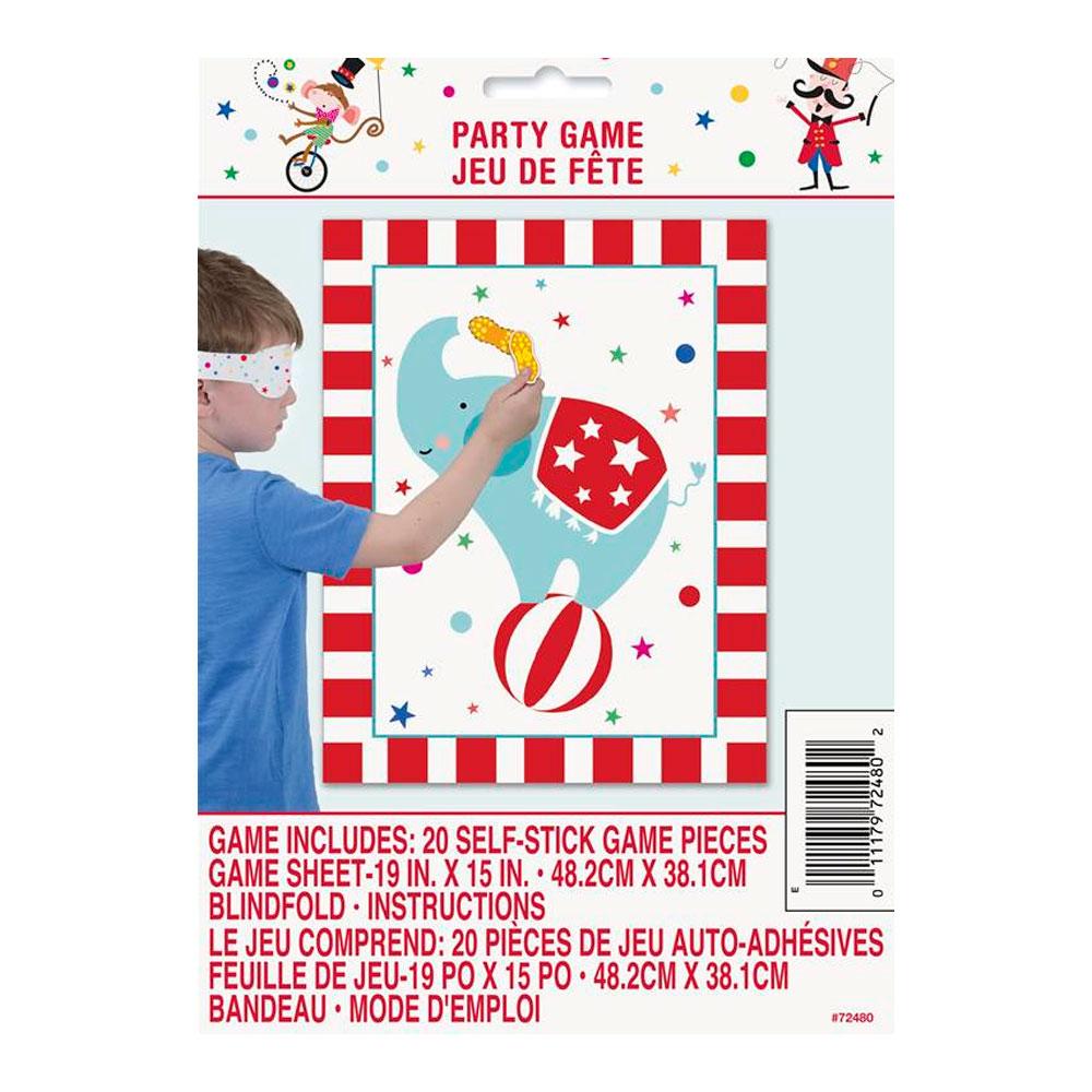 Juego Infantil Fiesta Circo 20 Stickers