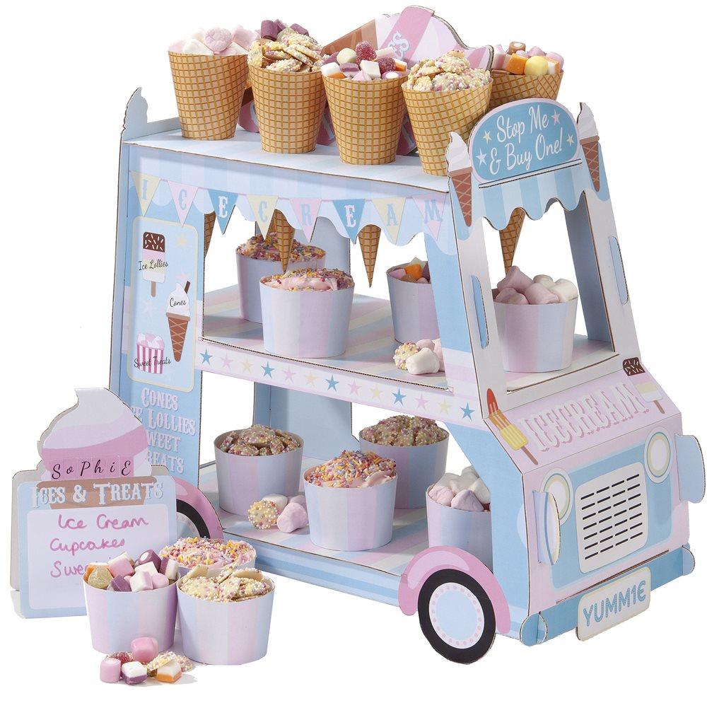 Kit Camioneta de los helados