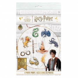 Kit de 8 Accesorios para Photocall Harry Potter