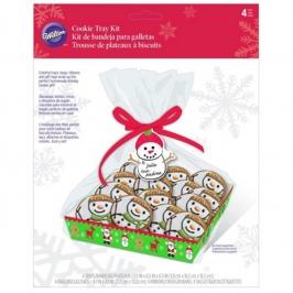 Kit de Bandejas para Galletas Feliz Navidad