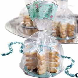 Kit de bolsitas para galletas copos de nieve Wilton
