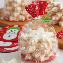 Kit de bolsitas para galletas Muñeco de nieve