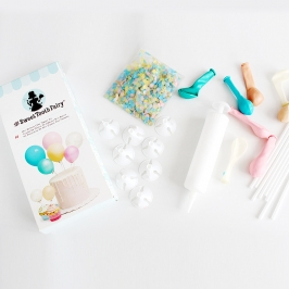 Kit para decorar Tartas Pastel Balloon