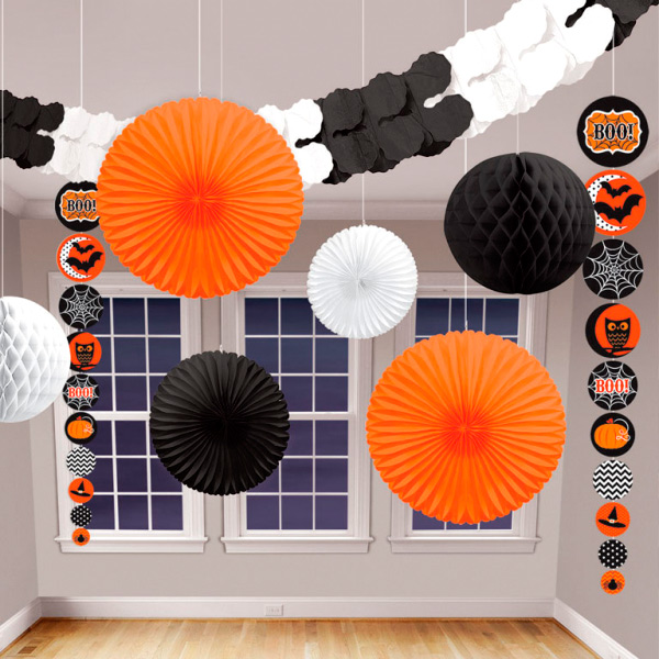 Kit Decoración Colgante Halloween