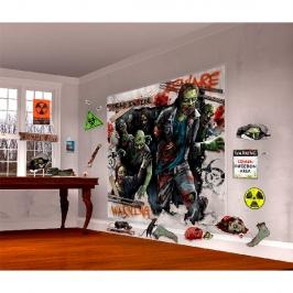 Kit Decoración de Pared Zombie