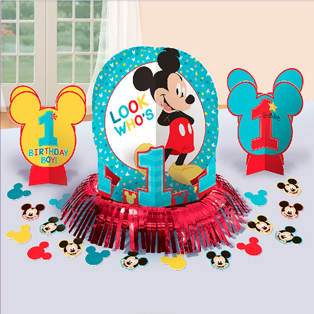 e8cb64e24 Kit Decoración Mesa Mickey Mouse 1 año - {My Karamelli}