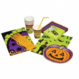 Kit fiesta de Halloween para 12 personas