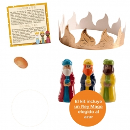 Kit figuras Roscón de Reyes Nº 5 (4 piezas)