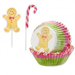Kit para cupcakes Hombre Jengibre