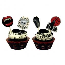 Kit para Decoración de Cupcakes Vampiro