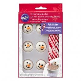 Kit para decorar dulces Hombre de Nieve