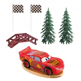Kit para Decorar Tartas Cars