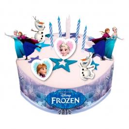 Kit para Decorar Tartas Frozen