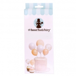 Kit para decorar Tartas Gold Balloon