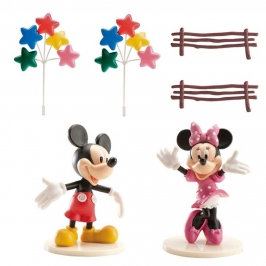 Kit para Decorar Tartas Mickey y Minnie
