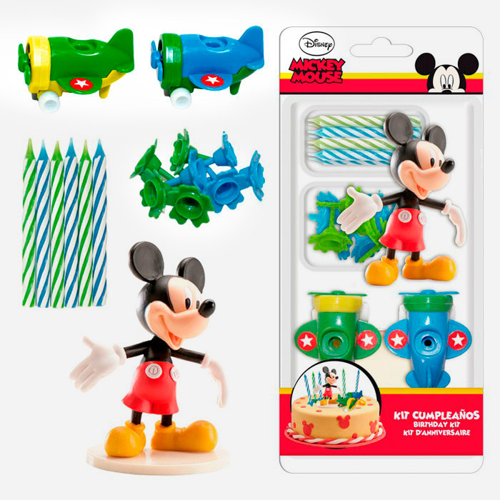 Kit para Decorar Tartas Mickey