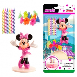 Kit para Decorar Tartas Minnie