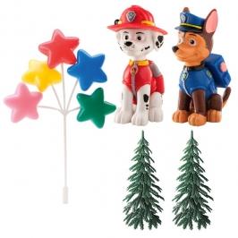 Kit para decorar tartas Patrulla Canina