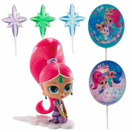 Kit para Decorar Tartas Shimmer and Shine