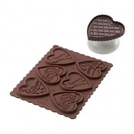 Kit para hacer Galletas de Chocolate Corazones