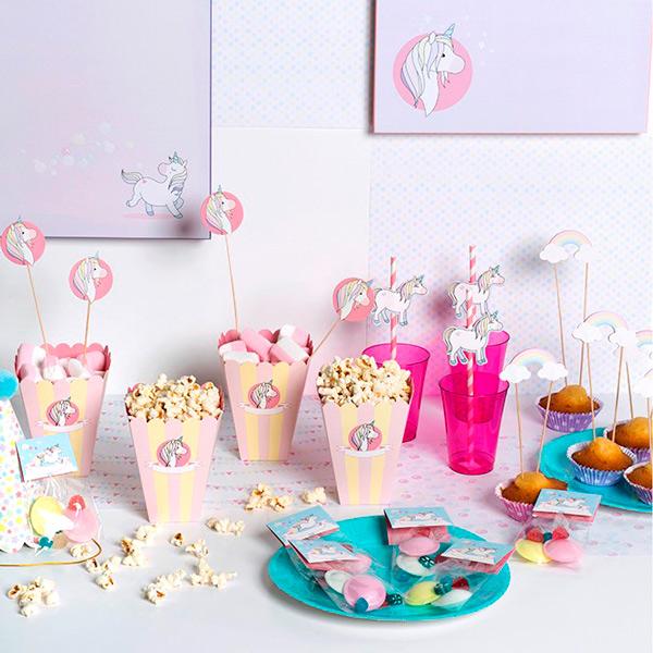 Kit Para Mesas Dulces Unicornio Comprar Online My Karamelli - Mesas-dulces