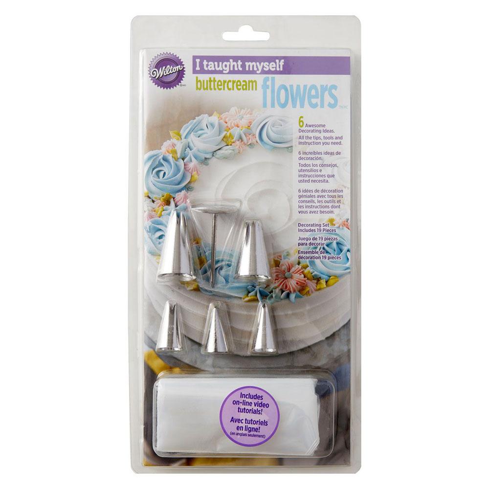 Kit para Realizar Flores de Buttercream 13 piezas