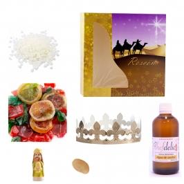 Kit para Roscón de Reyes 7 Piezas