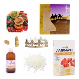 Kit para Roscón de Reyes 8 Piezas
