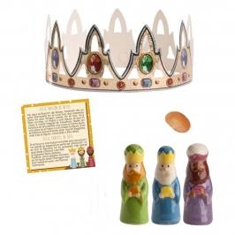Kit para Roscón Reyes de Oriente (6 piezas)