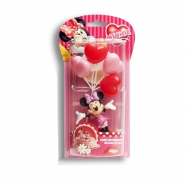 Kit para tartas Minnie Mouse