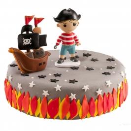 Kit para Tartas Pirata y Barco