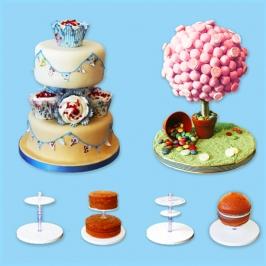 Kit para tartas de pisos y esferas