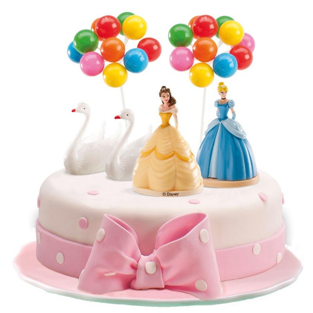 Kit para tartas Princesas Disney