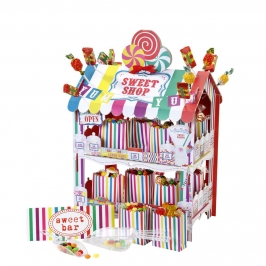 Kit puesto de Candy bar Multicolor