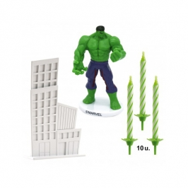 Kit para Decorar Tartas Hulk