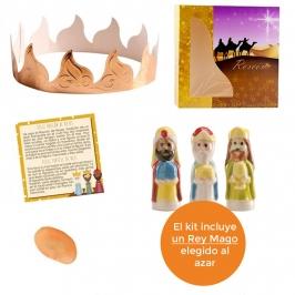 Kit figuras Roscón de Reyes Nº 1 (5 pcs)