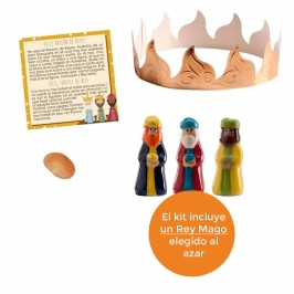 Kit figuras Roscón de Reyes Nº 2 (4 pcs)