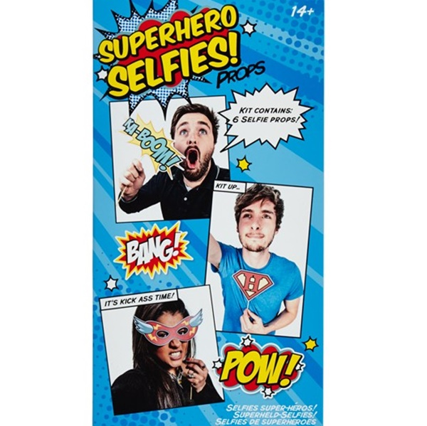 Kit Superheroes para Photocall y selfies