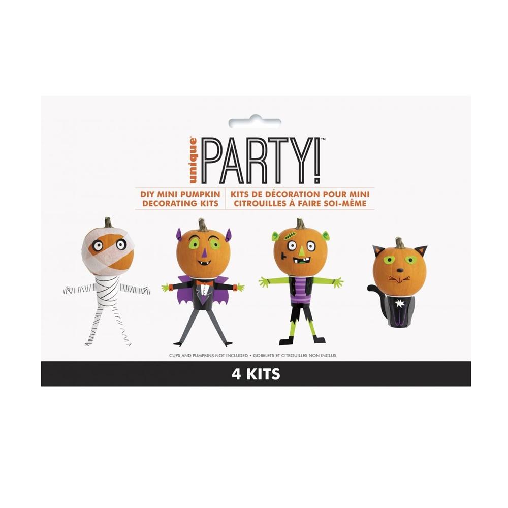 Kit para Decorar Mini Calabazas