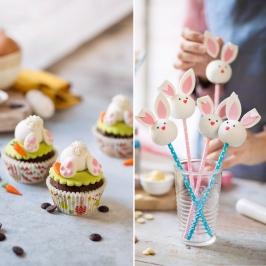 Decoraciones de Azúcar para Hacer Conejos 10 ud