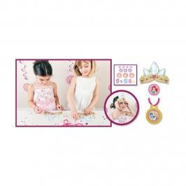 Kit para Decorar Tiaras Princesas Disney 6 ud