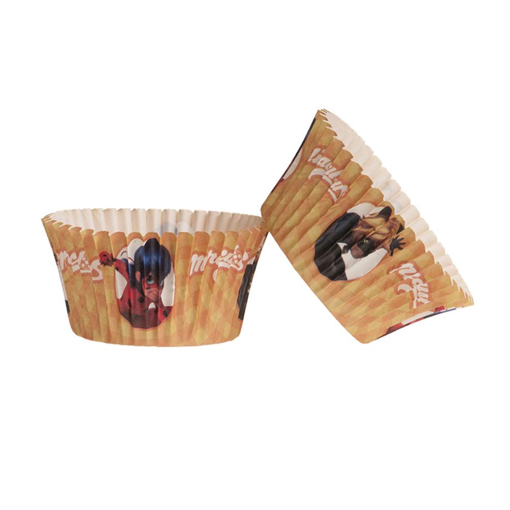 Cápsulas para Cupcakes Ladybug 25 Unidades