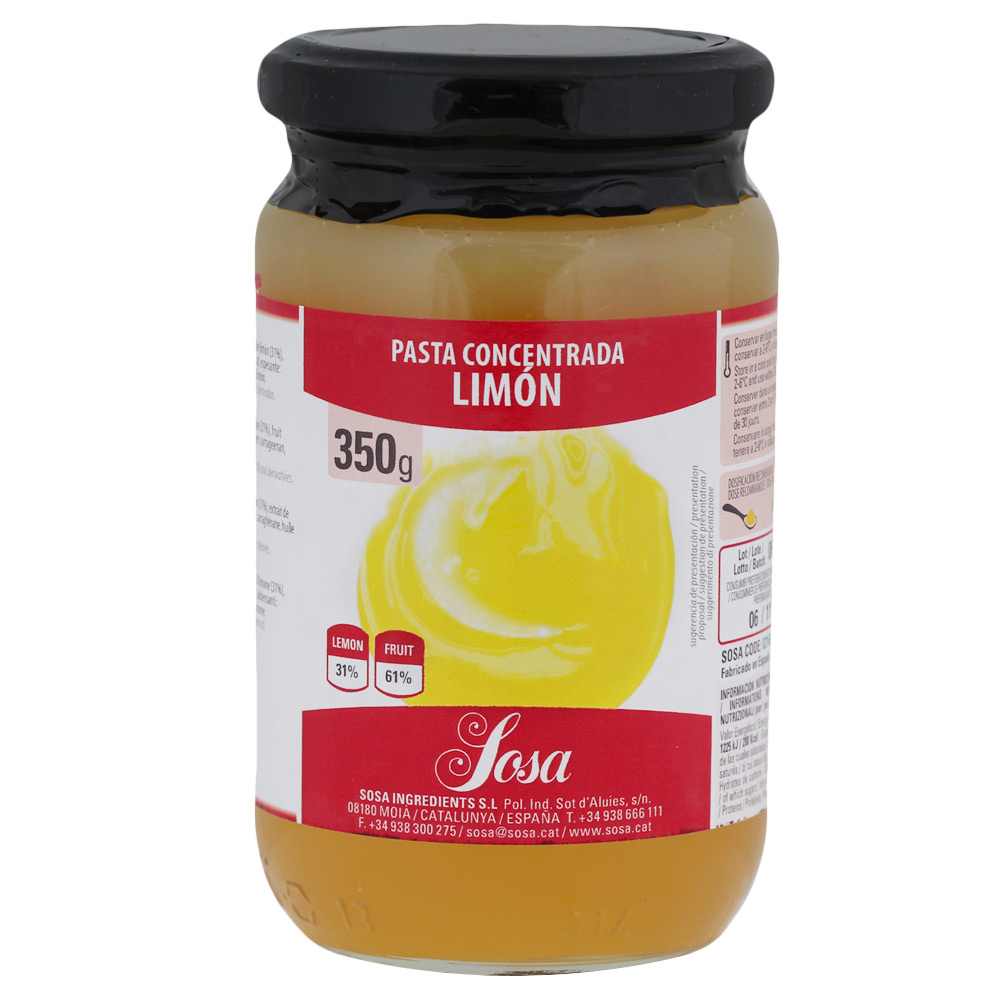 Limón en Pasta Home Chef 350 gr.