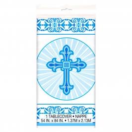 Mantel Comunión Cruz Azul
