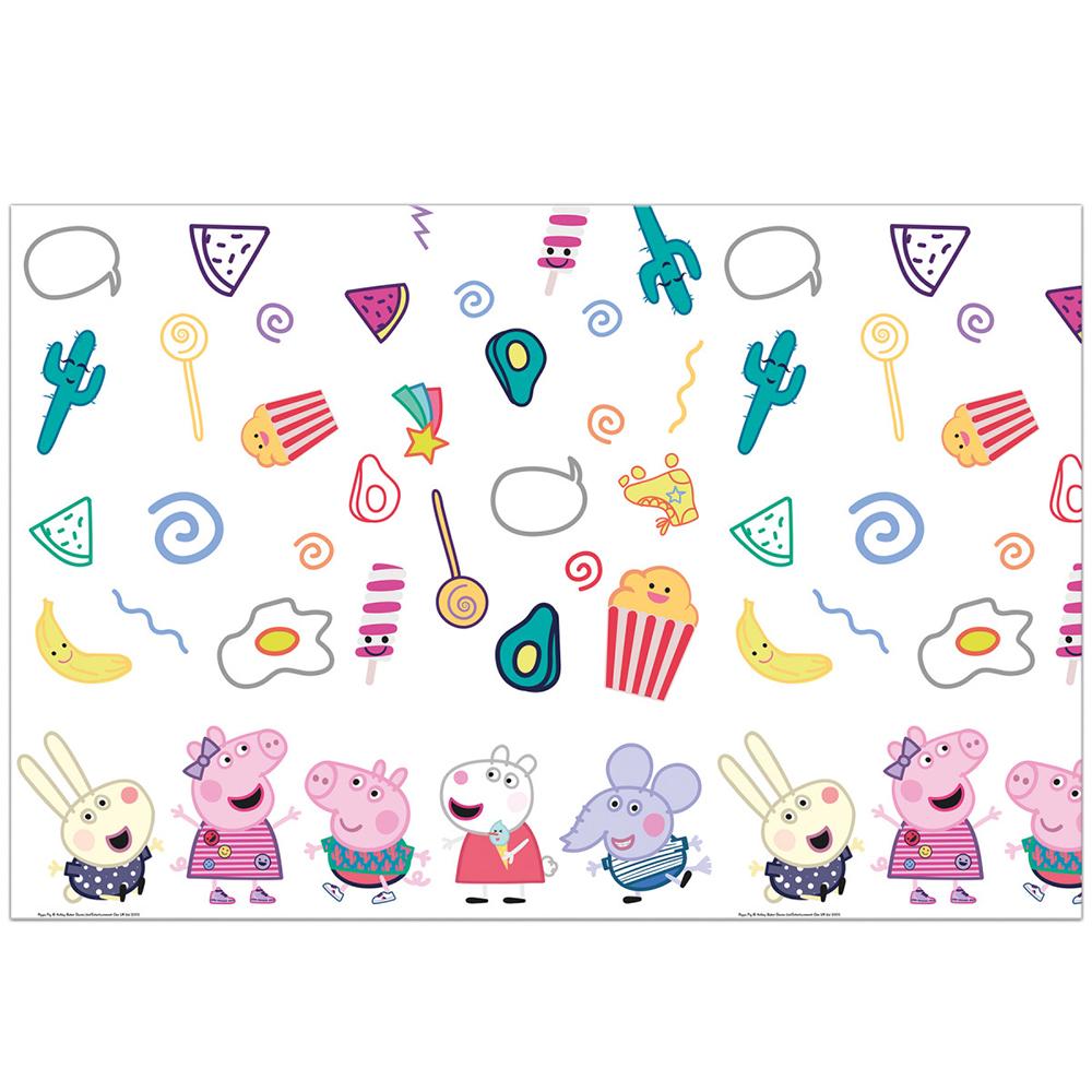 Mantel de Plástico Peppa Pig y George