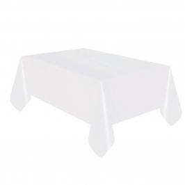 Mantel de Plástico Blanco