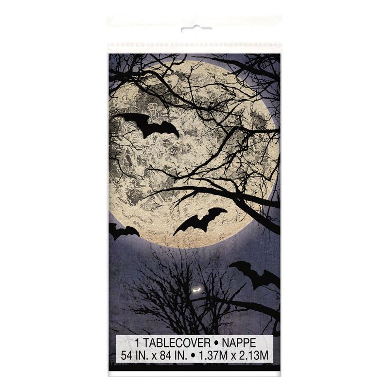Mantel de Plástico Noche de Halloween