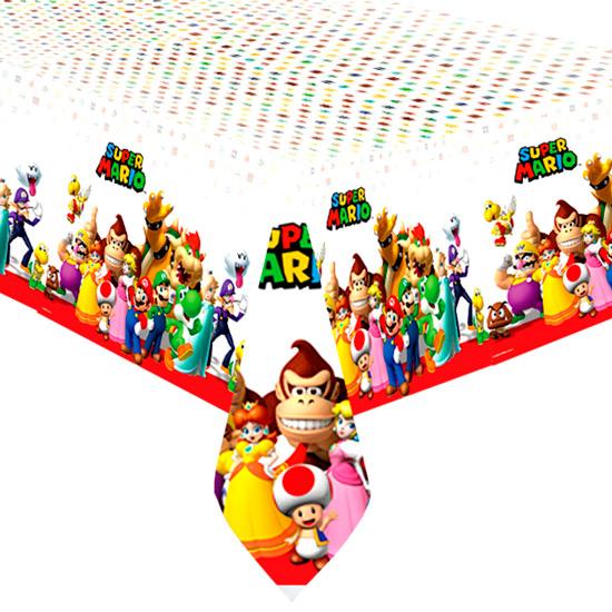 Mantel de plástico Super Mario